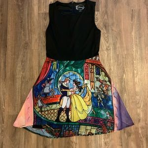 Beauty and the Beast Stained Glass Disney Dress
